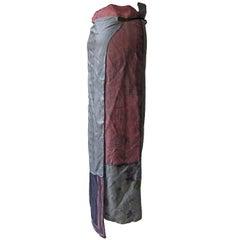 Martin Margiela Show Piece Silk Scarf Wrap Skirt SS1992 / SS 1994