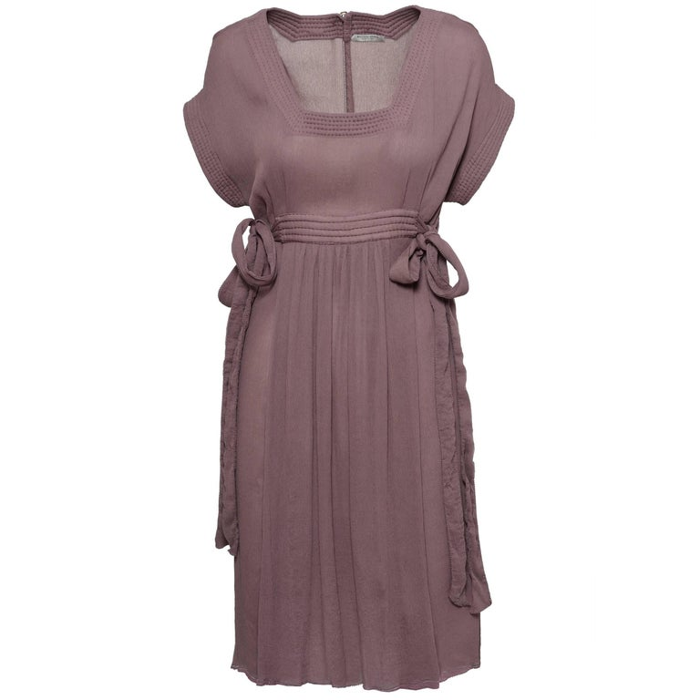 BOTTEGA VENETA Silk Day Dress