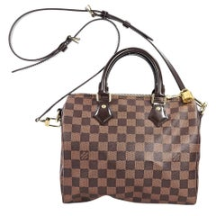 Brown Louis Vuittion Speedy Bandouliere 25 Bag