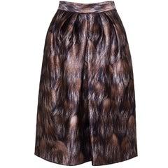 DOLCE & GABBANA Graphic Print Skirt