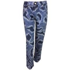 Vintage 1991 Vivienne Westwood Camo 90's Punk Rock Jeans 42 4