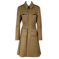 Jean Paul Gaultier Wool Cashmere Trench Coat
