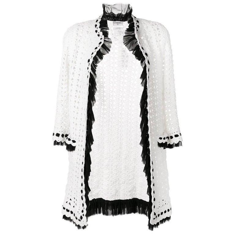 Vintage Chanel Crochet Cardigan