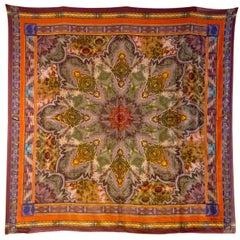 Etro Multi-Color Wool/Silk Scarf