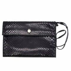 """Christian Dior Large """"Diorific"""" Shiny Python Bucket Bag"""