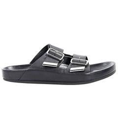 Black Givenchy Leather Slide Sandals