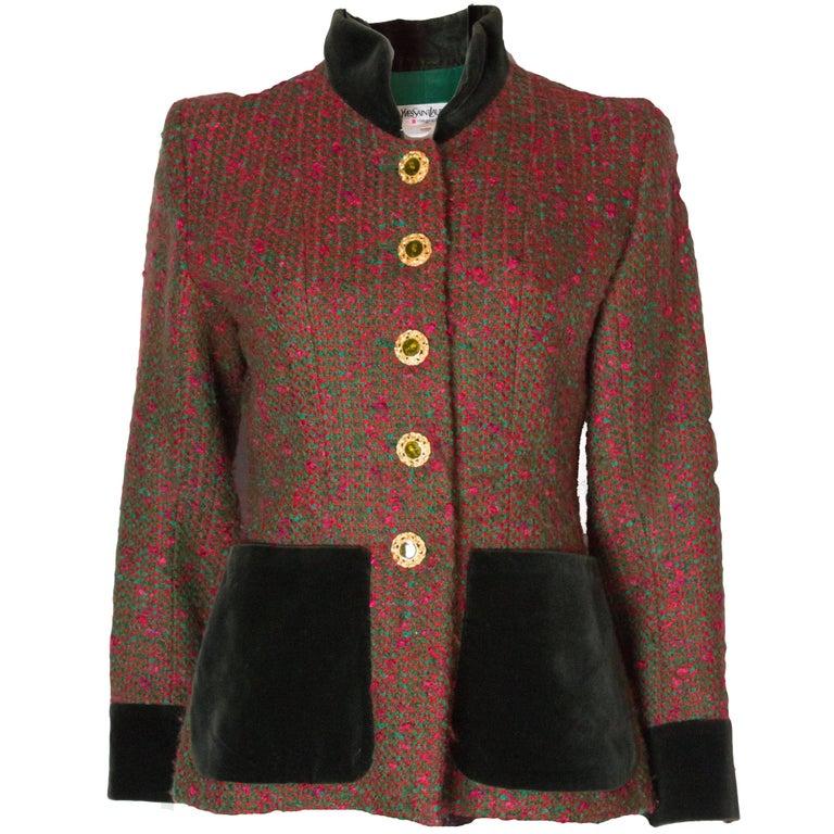 Yves Saint Laurent  Rive Gauche Vintage Jacket For Sale
