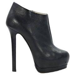 Black Giuseppe Zanotti Platform Ankle Boots