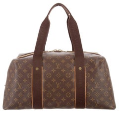 Louis Vuitton Limited Edition Monogram Men's Travel Duffle Top Handle Tote Bag