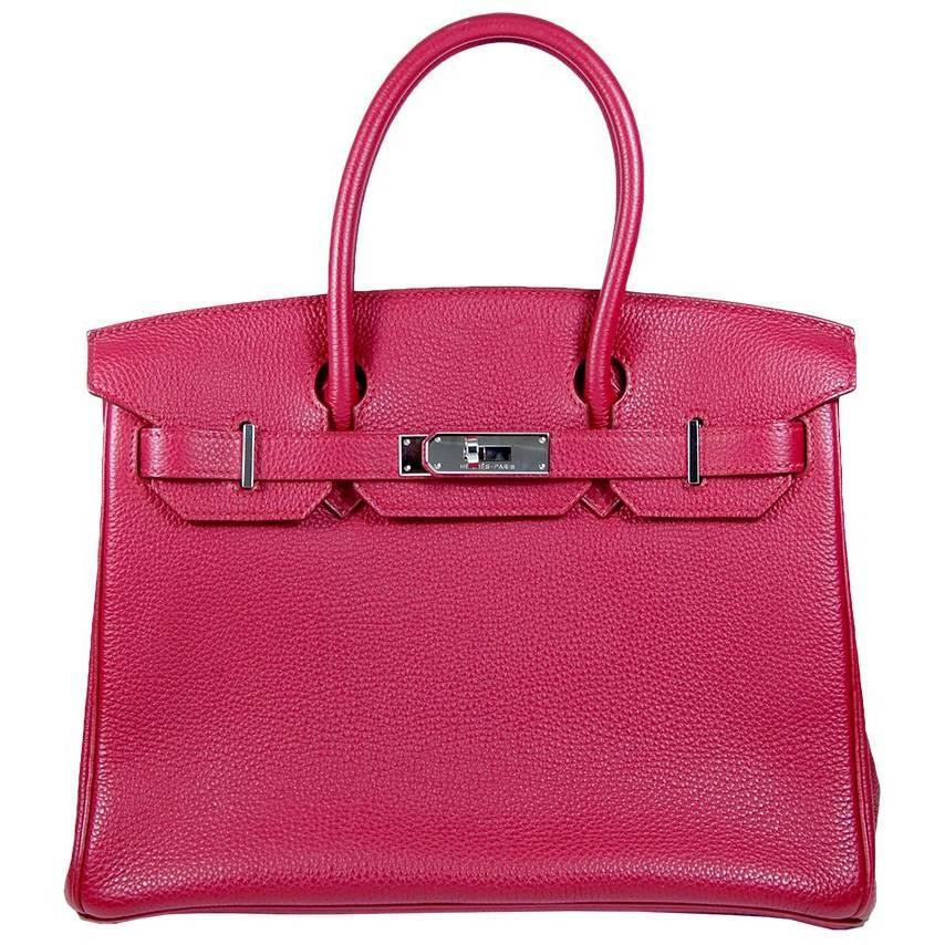 1b483330704 Hérmes 30cm Bougainvillier Mississippi Matte Birkin Bag For Sale at 1stdibs