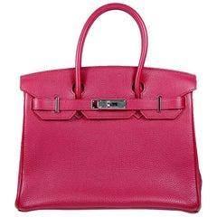 Hermes 30cm rot Birkin Bag