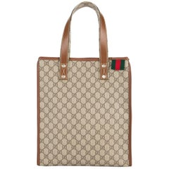 Gucci Monogram Logo Men's Large Carryall Travel Shoulder Top Handle Tote Bag