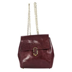 Red Marc Jacobs Leather J Marc Backpack