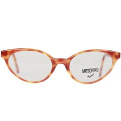 a425c4481e Moschino by Persol Vintage Tortoise Cat Eye Frame Mod. MF723 53 mm NOS
