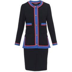 CHANEL BOUTIQUE Black Suit Dress