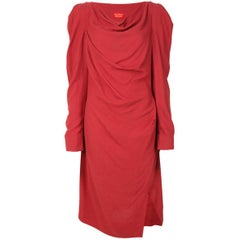 Red Crepe Vivienne Westwood Dress