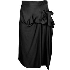 Marni Black Bow Skirt Sz IT42
