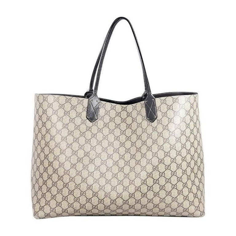 Gucci Reversible Gg Supreme Tote Bag For