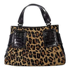 Nancy Gonzalez Multicolor Leopard-Print Tote Bag