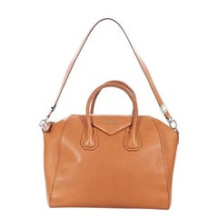 Givenchy Medium Tan Antigona Leather Satchel