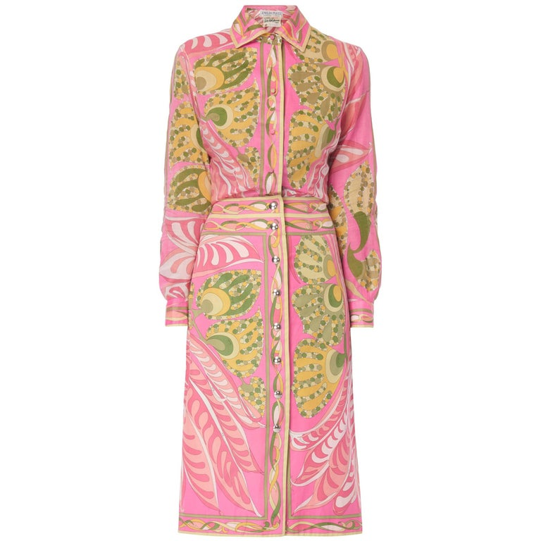 82eeddd5d337 Emilio Pucci Skirt Suit For Sale at 1stdibs
