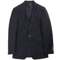 Tom Ford Black Shelton Base Cashmere Cardigan Jacket