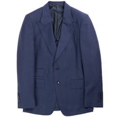 Tom Ford Navy O'Connor Mohair Wool Blazer Jacket