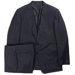 Tom Ford Black Windsor Base Wool Sharkskin 3Pc Suit