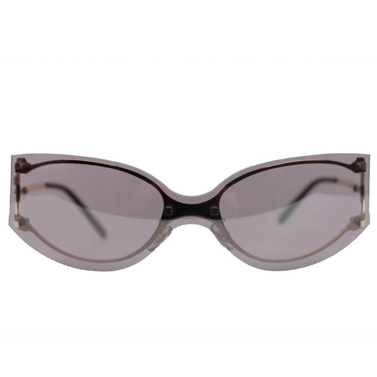 badecf70ee6 Cartier Paris Pasha Pink Gold Rimless Sunglasses T8200563 110mm For ...