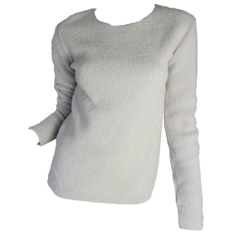 Margiela Grey Sweater, 1990s