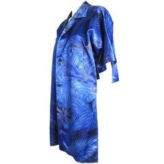 Yohji Yamamoto Hawaiian Shirt Cropped in Back