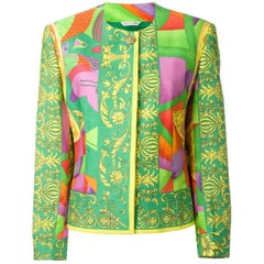 1993 ISTANTE by GIANNI VERSACE print jacket