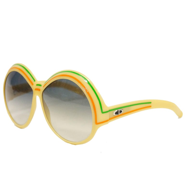 Christian Dior by Optyl 2040 70 Sunglasses, C. 1970s  For Sale
