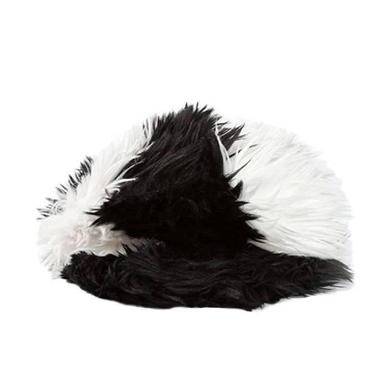 Chanel Vintage Furry Cap