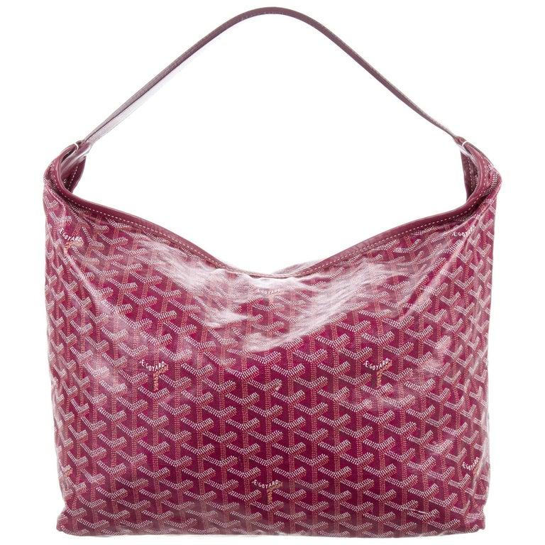 b464bcd8ed9 Goyard Red Monogram Large Bucket Carryall Travel Top Handle Shoulder Tote  Bag For Sale