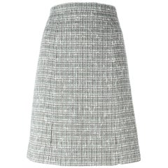 Chanel Multicolor Cotton Vintage Skirt, 2000s
