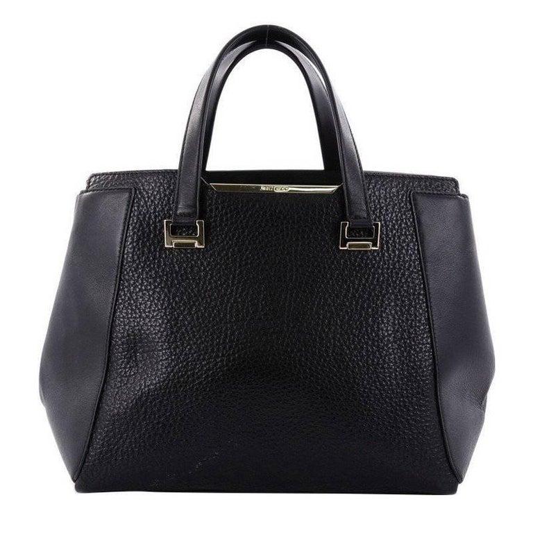 Jimmy Choo Alfie Handbag Leather Large