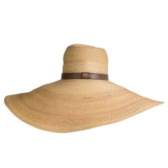 Gucci Floppy Straw Sun Hat