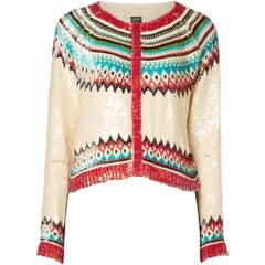 Jean-Paul Gaultier, Beaded cardigan, circa 1965