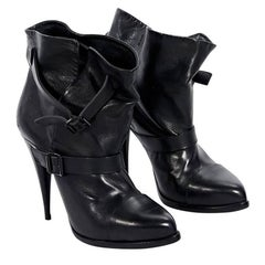 Black Givenchy Leather Ankle Boots
