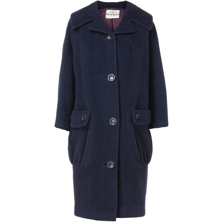 Navy coat, circa 1959