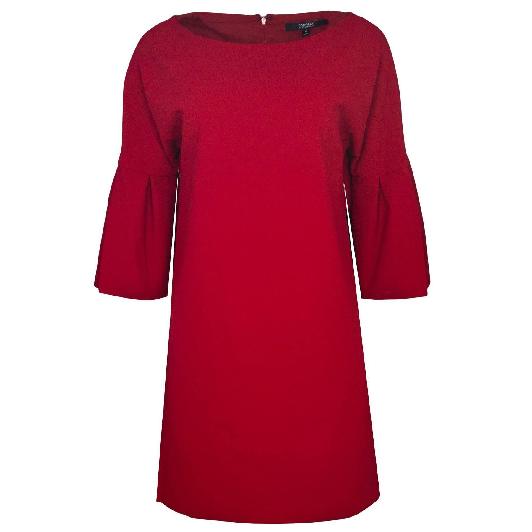 Badgley Mischka Red Dress