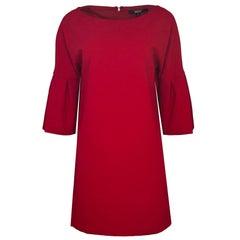 Badgley Mischka Red Sheath Dress Sz 4 NWT
