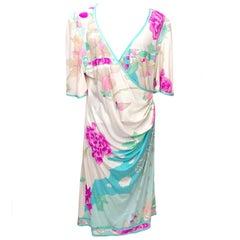 Leonard White Floral Dress
