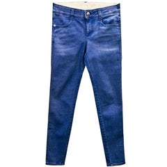 Stella McCartney Blue Skinny Jeans Sz 25