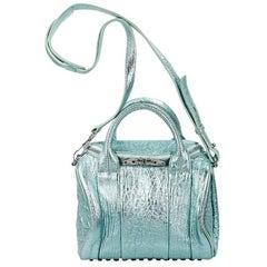 Alexander Wang Metallic Teal Mini Rockie Bag