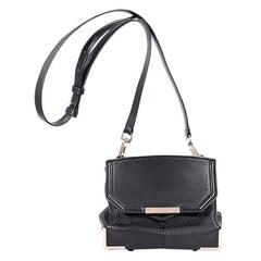 Alexander Wang Black Leather Marion Crossbody Bag
