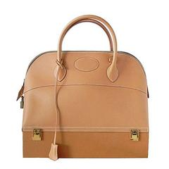 Hermes Vintage Macpharson Bag Coveted Vache Barenia Leather Never Carried