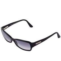 Contemporary black Bulgari sunglasses