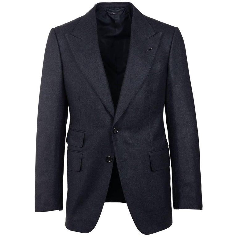Tom Ford Mens Wool Charcoal Wool Shelton Sport Dinner Jacket 48R/38R RTL$4190